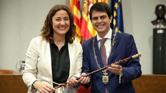 Marc Castells, nou president de la Diputació en substitució de Mercè Conesa