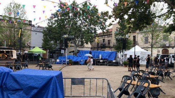 Suspeses per seguretat totes les actuacions del primer dia de Festa Major
