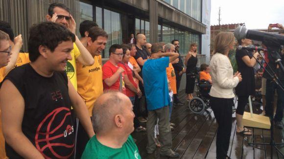 Els StQlímpics reivindiquen el respecte a la diversitat en el pregó de Festa Major