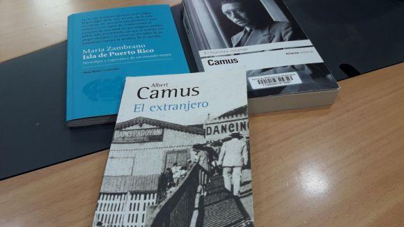 Els llibres de Maria Zambrano i Albert Camus