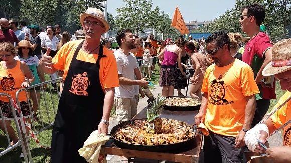El concurs d'arrossos, una de les cites més esperades de la Festa Major de Sant Cugat