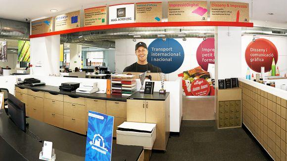 Interior d'un dels centre de MBE / Foto: Mbeprat.com