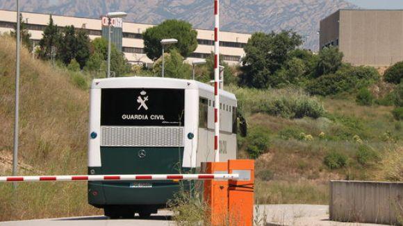 Romeva ingressa a la presó de Lledoners