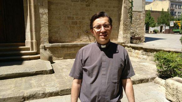 Xarxes socials, ciència i fe, els trets del nou rector de Sant Pere d'Octavià