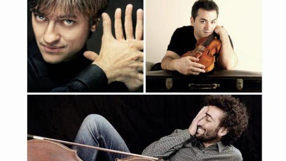 Arrenquen les nits de música al Claustre amb un concert del Trio Colomé, Bagaría, Trescolí