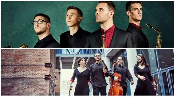 Les actuacions seran de Kebyart Ensemble i Cosmos Quartet