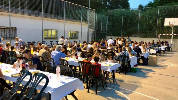El sopar popular de la gresca / Foto: Localpres