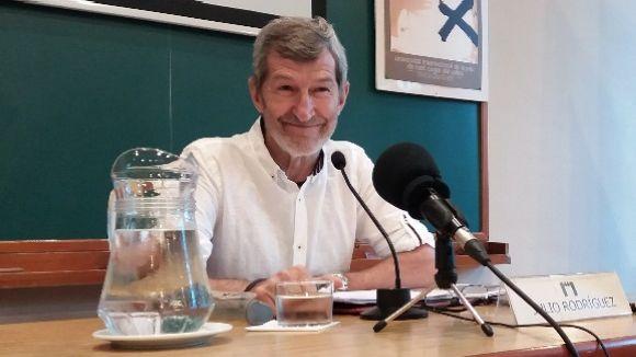 Julio Rodríguez: 'El militar hauria de ser l'enemic més gran de la guerra'