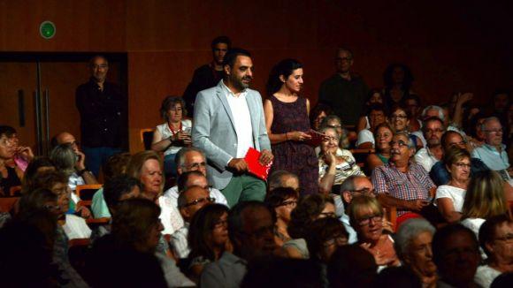 Els periodistes Jofre Llombart i Maria Cusó presentaran la gala / Foto: Teatre-Auditori