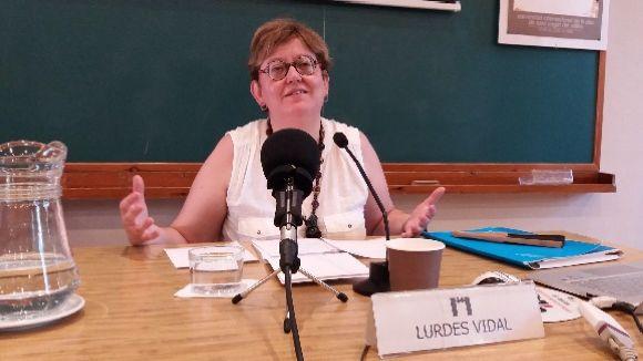 Lurdes Vidal ha parlat del concepte de 'musulmà com a enemic d'occident'
