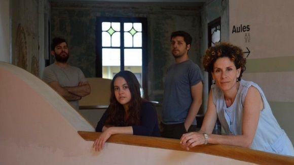 Martina Vilarasau estrena 'Punys' al costat dels actors Marta Marco i Marc Rius