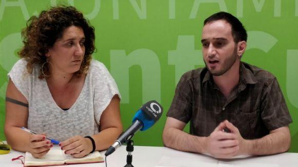 Núria Gibert i Ignasi Bea, en una imatge d'arxiu / Foto: Cugat Mèdia