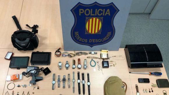 Detingut un grup de lladres relacionat amb robatoris a Sant Cugat i la comarca