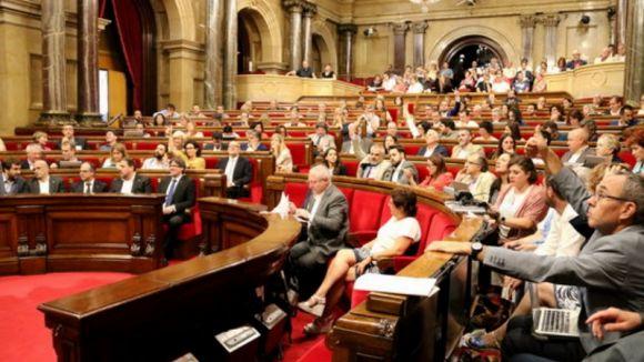 El Parlament va aprovar l'any passat portar al Congrés la despenalització de l'eutanàsia / Foto: ACN