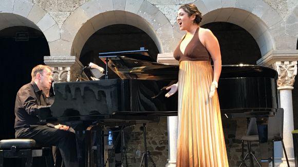 Adriana de León durant el concert