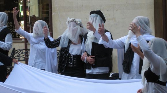 Comediants aterra aquest dijous a Sant Cugat amb una 'performance' a la plaça Augusta