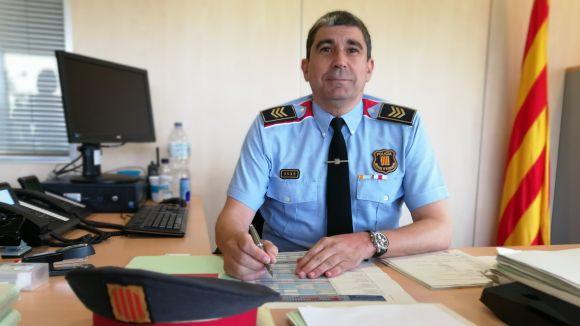 Aterra a Sant Cugat el nou cap dels Mossos amb els operatius al carrer com a prioritat