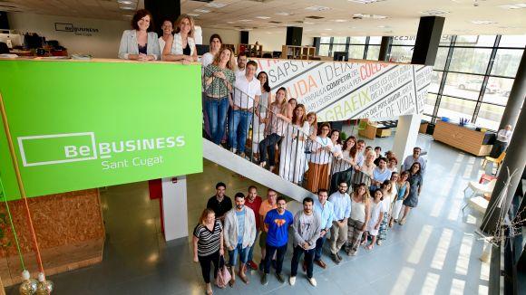 Administració, agents econòmics i residents han donat el tret de sortida a la nova etapa del centre / Foto: Localpres