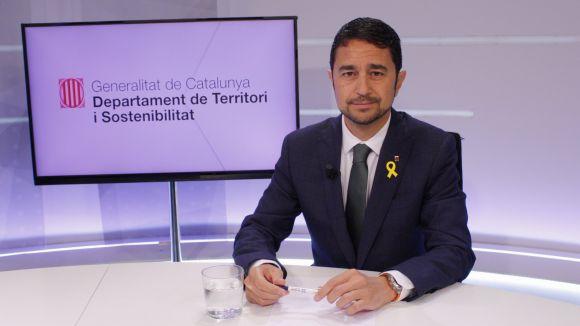 Damià Calvet a 'L'Entrevista' de La Xarxa / Foto: La Xarxa