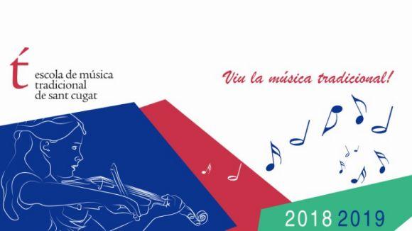 Inscripcions obertes per al nou curs a l'Escola de Música Tradicional de Sant Cugat