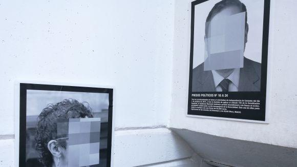 La Floresta acull una reproducció de la mostra censurada a ARCO sobre els 'presos polítics'