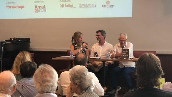 L'alcaldessa ha acompanyat Pedro a l'acte / Foto: Premsa Ajuntament