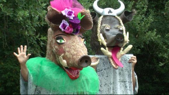 Els Capgrossos de la Floresta fan una crida a la convivència amb la natura en el seu pregó
