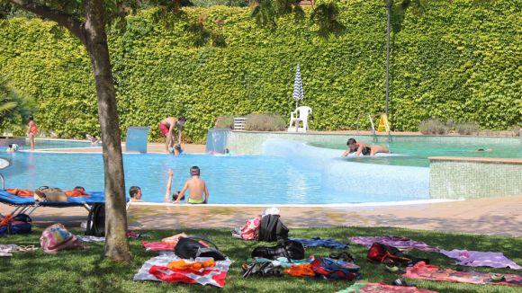 Piscines municipals d'estiu, al Parc Central i a la Floresta