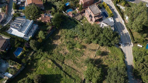 Imatge dels terrenys captada amb dron / Foto: Veïns de la Floresta