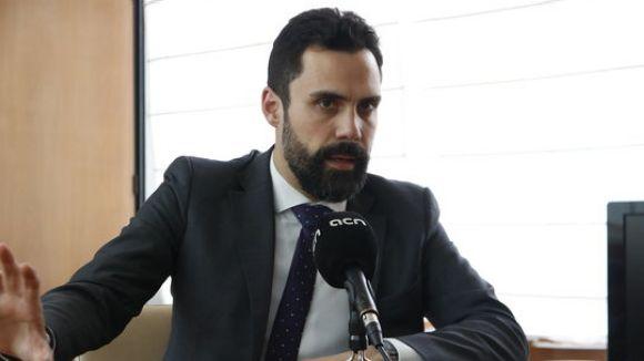 Torrent vol respondre Llarena amb 'consens' davant l'ordre de suspensió dels sis diputats independentistes