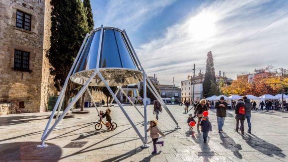 Sergio Sebastiàn és el creador d'aquestes campanes / Foto: web Sergio Sebastián