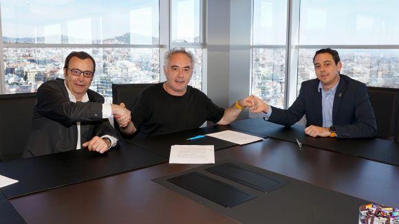 Grifols i elBullifoundation signen un acord de col·laboració