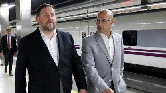 Romeva i Junqueras demanen la llibertat i proposen com a alternativa l'arrest domiciliari o un dispositiu telemàtic