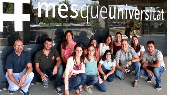L'equip de noves ciclines / Foto: UIC