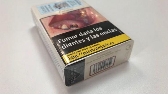 Els missatges als paquets ajuden a reduir el nombre de fumadors