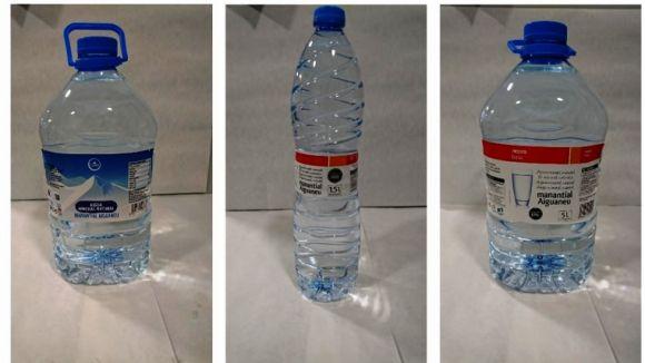 Eroski també retira les ampolles d'aigua que provoquen irritació digestiva