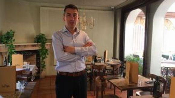 Paulo Salazar, el nou director del Restaurant La Plaça