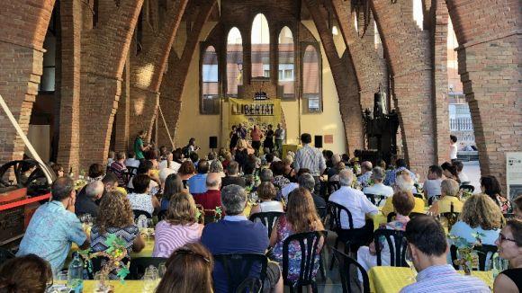El 'tast groc de vins' en suport dels 'presos i exiliats polítics' recapta 1.800 euros