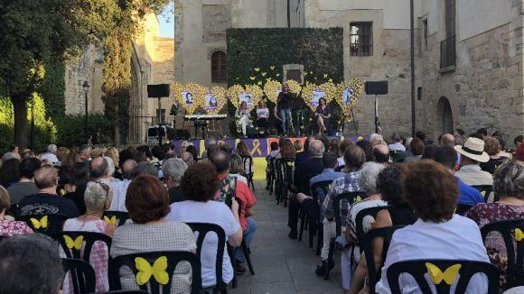 Clam conjunt independentista i feminista a Sant Cugat en suport a les 'preses i exiliades polítiques'