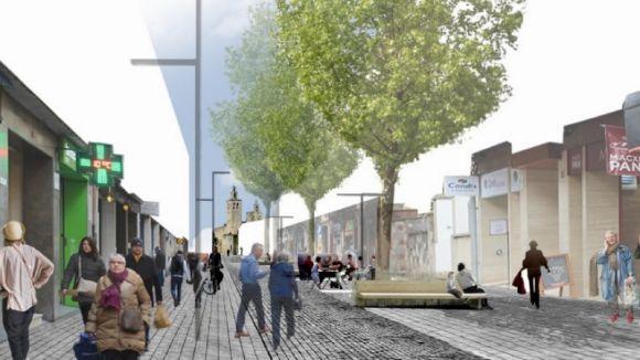 La vianantització de l'avinguda de Cerdanyola arrencarà el primer trimestre de 2019