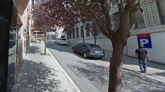 Baixada de Sant Sever, de pujada / Foto: Google Maps