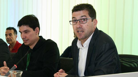 Dimitri Defranc i Xavier Cortés / Foto. Localpres