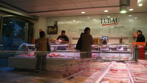 Tubau tanca l'establiment del carrer de la Torre / Foto: Tubau