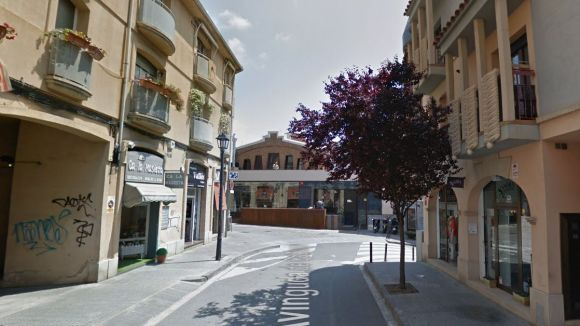 Cruïlla de l'avinguda de Catalunya i el carrer d'Enric Granados / Foto: Google Maps