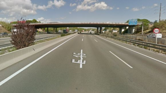 L'ANC planeja penjar missatges als ponts / Foto: Google Maps