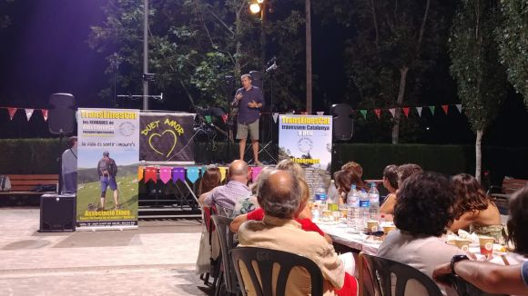 L'Associació Eines recapta 1.120 euros en el sopar solidari a favor de la TransEinesCat