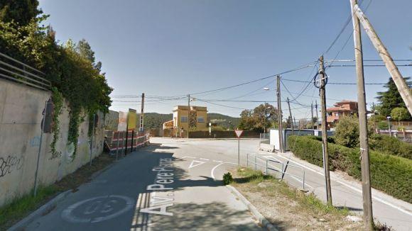 Tall de trànsit a l'avinguda Pere Planas de la Floresta fins a finals d'agost