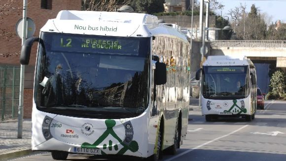 Els busos urbans de Sant Cugat redueixen el seu servei fins al 31 d'agost