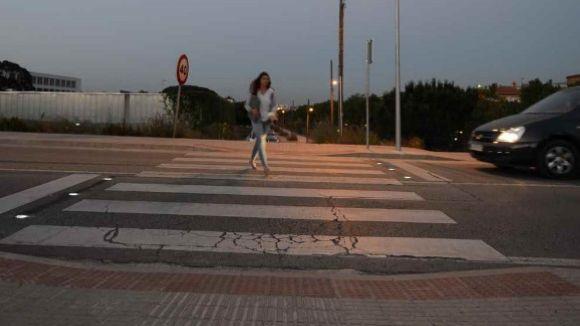 Afectacions al trànsit a l'entorn del parc del Turó de Can Mates per obres als passos de vianants