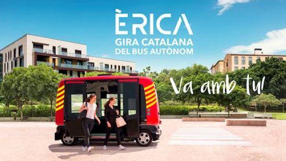 La gira del primer bus autònom de Catalunya farà parada a Sant Cugat